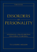 Disorders of Personality Cover
